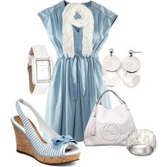 Kinda reminds me of the Notebook outfit: Baby blue, created by jayneann1809.polyvore.com
