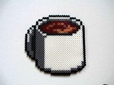 Perler Bead Cup of Coffee