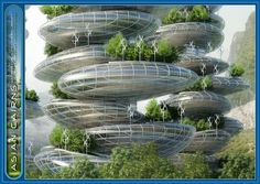 Asian Cairns Project Comprises Six Sustainable Buildings Resembling A Stack Of Pebbles | Futuristic NEWS #green building -  stack of pebbles,  futuristic skyscraper