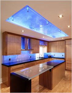 led kitchen lighting. Surprising Led Lit Glass Countertops With Glass Countertops Austin Texas  Lights For The Kitchen What I Like Lighting Is Hugely Important In Making A Room Feel