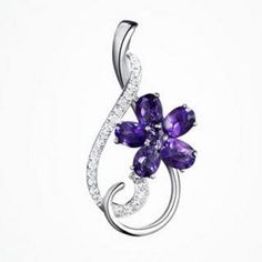 Rhinestone Crystal Pendant Silver Wedding Rings, Wholesale Jewelry, Crystal Pendant, Crystal Rhinestone, Sterling Silver Pendants, Belly Button Rings, Amethyst, Plating, Crystals