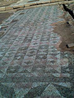 Ancient Messene, mosaic