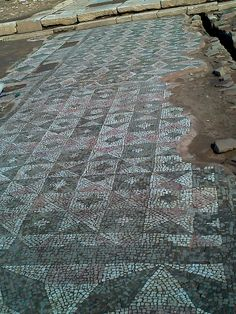 Ancient Messene, mosaic