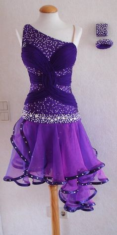 Gorgeous Purple #Latin http://www.dancinfeelin.com/