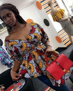 Exclusively Stunning Ankara Blouse Styles For Beautiful Ladies Exclusively Stunning Ankara Blouse Styles For Beautiful Ladies African Blouses, African Lace Dresses, Latest African Fashion Dresses, African Inspired Fashion, African Print Fashion, Africa Fashion, African Prints, African Attire, African Wear