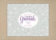 Gratitude Garden DIY PRINTABLE Thank You by PrincessPearlPaperie, $18.00