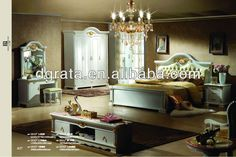 2013 popular modern bed sets furniture in solid wood and jade to be finished for the bedroom house suite #cream, #bedroom