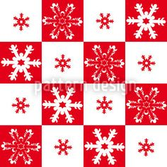Little Snow Flakes by Liljana Panjtar available as a vector file on patterndesigns.com