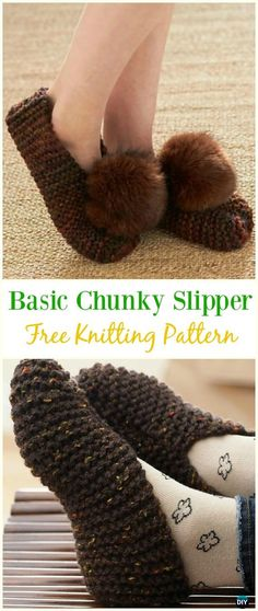 Knit Adult Slippers & Boots Free Patterns: Girls Slipper Shoes, Women Boots, Men Slippers, Home Slippers Free Knitting Patterns. Knitting Basics, Knitting Kits, Baby Knitting Patterns, Loom Knitting, Knitting Socks, Free Knitting, Knit Slippers Free Pattern, Knitted Slippers, Crochet Slippers