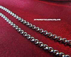 316L Surgical Steel Rolo Bracelet 2.15mm