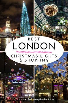 London Christmas: Lights & Shopping - Christmas in London is magical! Here are our recommendations for where to see the best Christmas lights & decorations–also great areas for Christmas shopping! Christmas Travel, Holiday Travel, Christmas Shopping, Christmas Fun, Xmas, Christmas Events, Magical Christmas, London Christmas Market, London Christmas Lights