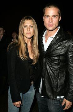 Bratt Pitt & Jennifer Aniston, 2004.