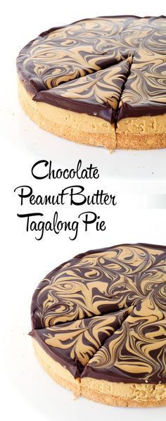 Peanut Butter Tagalong Pie Chocolate Peanut Butter Tagalong Pie - my favourite Girl Scout Cookie in PIE form! MenuChocolate Peanut Butter Tagalong Pie - my favourite Girl Scout Cookie in PIE form! Peanut Butter Desserts, Chocolate Peanut Butter, Chocolate Ganache, Chocolate Food, Chocolate Recipes, Chocolate Crinkles, Chocolate Peanutbutter Pie, Chocolate Smoothies, Chocolate Mouse