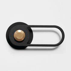 01 Pilule Light Door Handle in black powder coated metal and satin brushed brassPL-OS No. 01 Pilule Light Door Handle in black powder coated metal and satin brushed brass Black Door Handles, Knobs And Handles, Knobs And Pulls, Porte Design, Door Design, Cabinet Door Hardware, Door Knobs, Hardware Jewelry, Door Levers