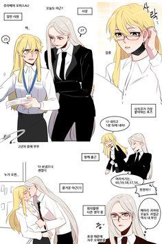Anime Girlxgirl, Yandere Anime, Yuri Anime, Anime Furry, Wallpaper Animes, Animes Wallpapers, Cute Lesbian Couples, Lesbian Art, Anime Couples
