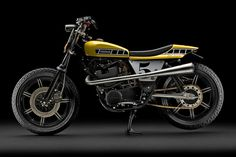 YAMAHA SR500 Tracker, reminds King Kenny.