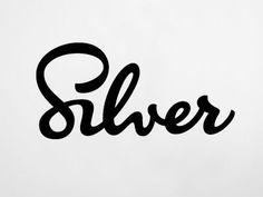 Hand lettering design.