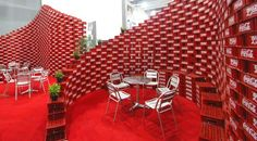 BNKR Arquitectura Builds an Entire Pavilion from 5,000 Recycled Coca-Cola Crates