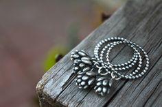 Ashley Weber Designs Succulent rings. In the next shop update www.ashleyweber.etsy.com
