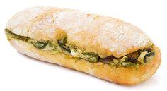 panino sardo @ grandaisy (roasted zucchini + ricotta + dried currants + olive tapenade + mint on ciabatta) // via seriouseats.com