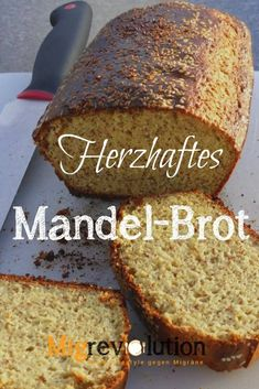 Hearty Almond Bread It is a good low carb alternative to traditional bread if you want to eat LCHF. You can find more recipes at: migrevolution. Low Carb Bread, Low Carb Keto, Low Carb Recipes, Paleo Dessert, Law Carb, Almond Bread, Carb Alternatives, Convenience Food, Spaghetti Squash