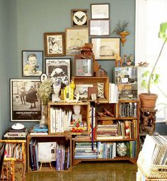 Clutter style.