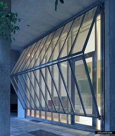 sliding door  The Belgian Embassy in Athens // Buerger Katsota Architects | Afflante.com