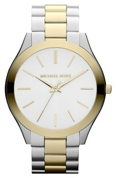 Stylish watch! Two toned and classic.