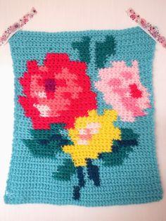 Intarsia Crochet Pattern Maker : Very cool crochet colorwork on this website Yarn Heaven ...
