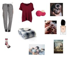 """""""Untitled #8"""" by inasm on Polyvore featuring Soft Joie, M&Co, Boohoo, Giorgio Armani, Eddie Bauer and Eos"""