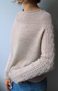 Inspired by Bright Sweater by Junko Okamoto | Pecci Filati S… | Flickr Sweater Knitting Patterns, Knitting Designs, Knit Patterns, Free Knitting, Diy Pullover, Knit Fashion, Pulls, Knit Crochet, Sweaters For Women