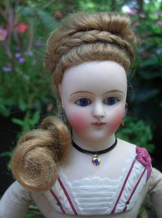 "13"" ALL ORIGINAL German Antique French Fashion Doll - Decorative from threesistersantiques on Ruby Lane"