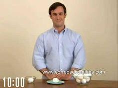 Cómo pelar un huevo rápidamente