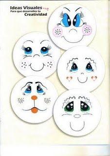 Minha Vida Emborrachada: Mais modelos de olhos para EVA! *****PARTE 2******