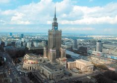 Palace of Culture and Science Warsaw Poland the Palace of Culture and Science is a notable high-rise building in Warsaw, Poland and the center for various companies, public institutions and cultural activities such as concerts, . Hotels, List Of Countries, Warsaw Poland, High Rise Building, European Tour, Burj Khalifa, Eastern Europe, Empire State Building, Places Ive Been
