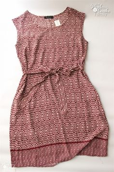 Ezra Hailey printed dress. Fall fashion in this Stitch Fix Review! Has pics of each outfit and a great honest review.