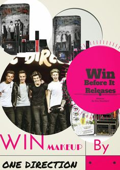 One Direction's New Makeup Line Release Date & Giveaway, By Barbie's Beauty Bits. #contest, #review, #makeupby1D, #thelookscollection, #markwins #ilovemakeupby1D