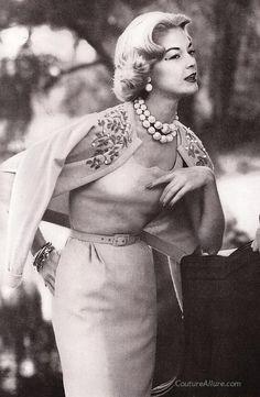 Vintage sweater, 1958