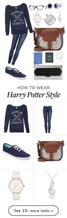 """Week 4- Day 3"" by jollyme on Polyvore featuring Keds, Mudd, Belk & Co., Journee Collection and Kate Spade"