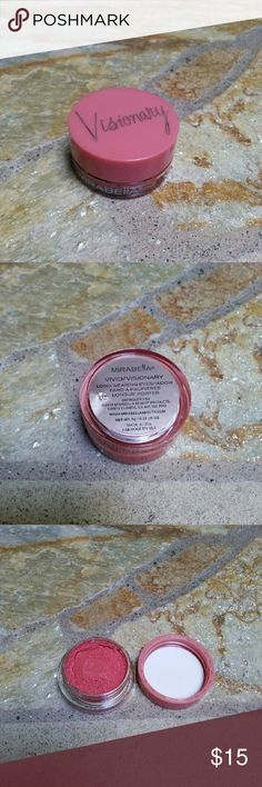 Mirabella Visionary eyeshadow Vivid New Mirabella visionary eyeshadow in vivid. This is a mousse eyeshadow so some separation is visible but it is brand new and fresh. Sephora Makeup Eyeshadow