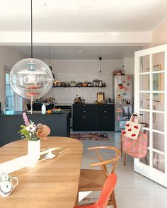 my scandinavian home: Hygge and Pops of Colour in a Danish home