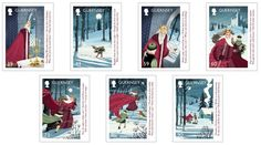 Good King Wenceslas appeared on Christmas 2017 stamps 7 colorful items unveiled by Guernsey Post