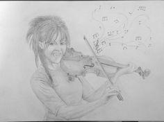 Lindsey Stirling by BuenoNando on deviantART