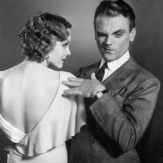 James Cagney and Mary Brian, promo for Hard to Handle Old Hollywood Stars, Hooray For Hollywood, Golden Age Of Hollywood, Vintage Hollywood, Classic Hollywood, Hollywood Glamour, James Cagney, Turner Classic Movies, Classic Films