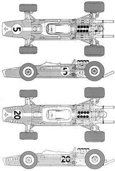 Lotus 49 F1 GP (1967)