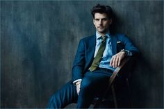 Well Suited: Johannes Huebl Suits Up for Todd Snyder Campaign
