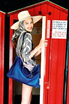 Love this shoot in gorgeous Portofino   by Ellen von Unwerth for Dior Cruise 2012.