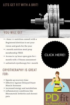 nutrition packages for sore muscles