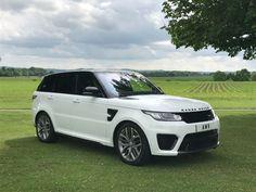 Land Rover Range Rover Sport 5.0 V8 S/C SVR 5dr Auto Estate Petrol White