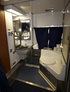 Your Own Private Bathroom With Shower If You Reserve A Bedroom On Both The Viewliner And